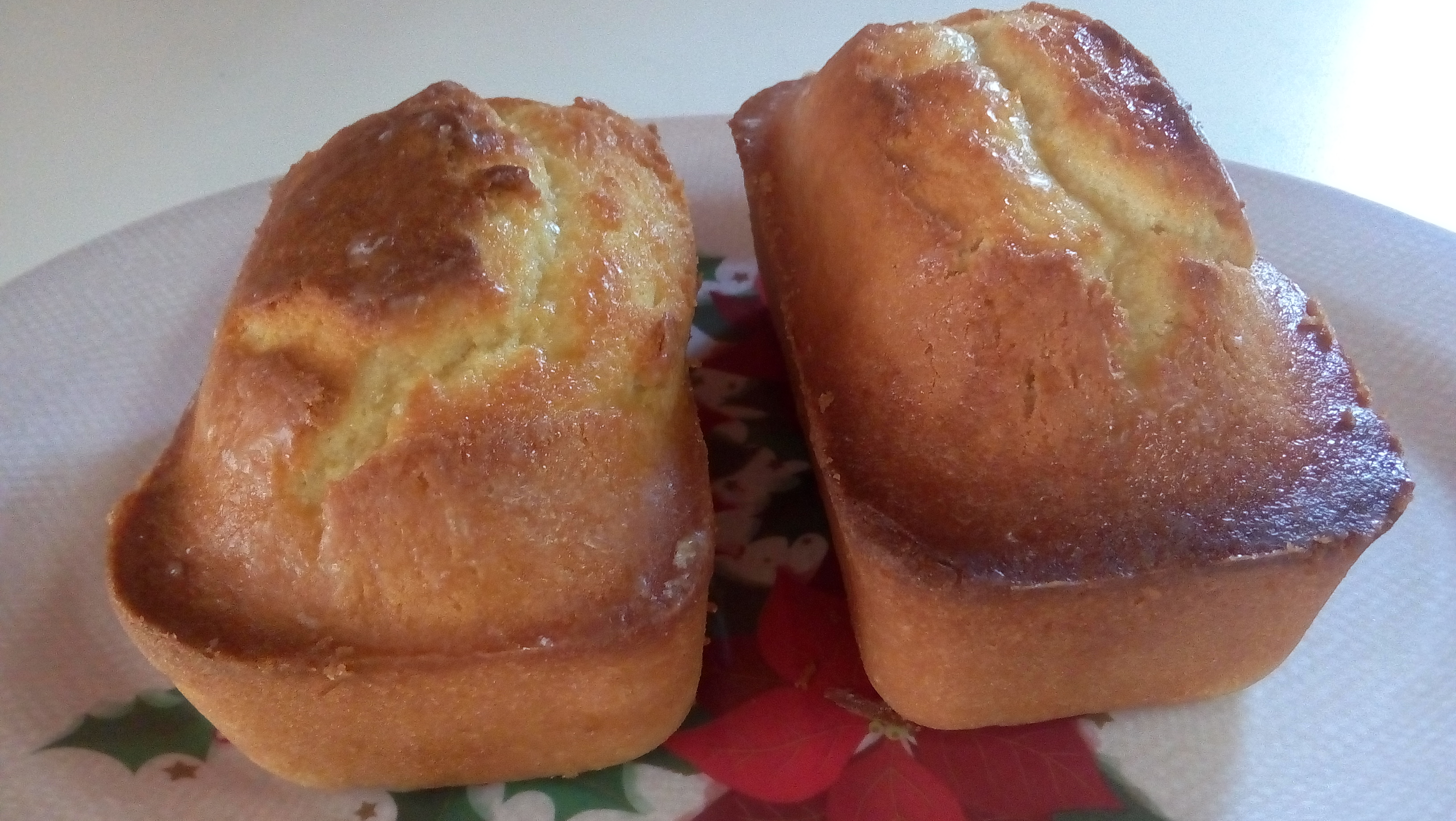 Orange Bread With Orange Glaze